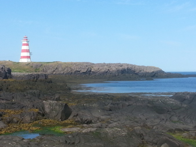 Western Lighthouse on Brier Island