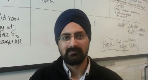Sarbpreet Singh, summer research associate with my lab.