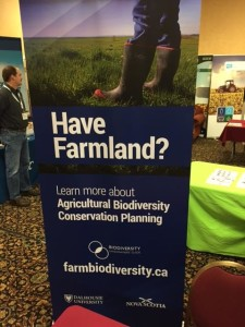 New BioLOG banner at NSFA AGM, December 2017.