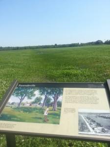Erstwhile Fazendeville, Chalmette Battlefield