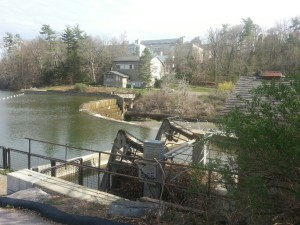 The small hydro facility on the Cornell campus.