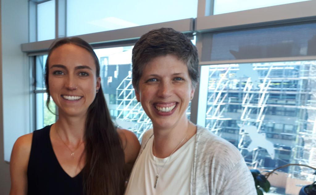 Ellen Chappell with me after her successful defense Monday, June 17, 2019.
