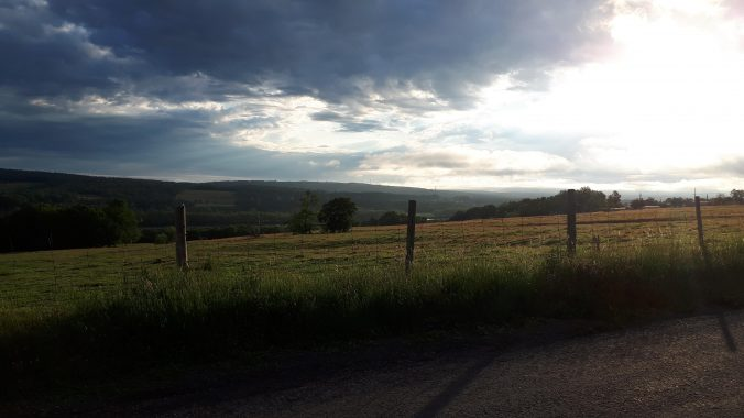Dawn on the Springhill Rd, NB